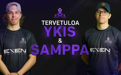 Tervetuloa Samppa & ykis