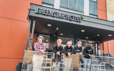 Vihreitä tähtiä! – EXEN CS:GO joukkue GreenStar Hotellissa